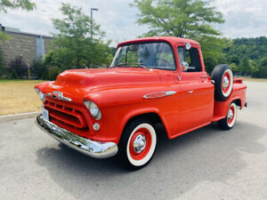1957 Chevy Step Side  Pick Up Truck - Show Room Condition -