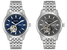 Bulova Men's Automatic Open Heart Window Multiple Dial Colors 40mm Watches