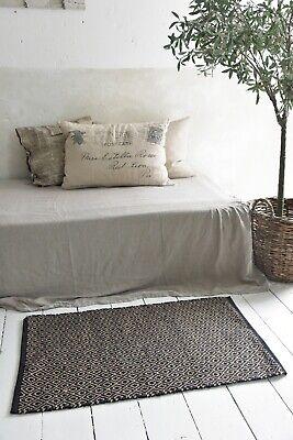 Nostalgie Vintage Teppich Läufer 100/% Jute  Ø90 cm Jeanne d´Arc living Natur