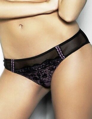 Knickers Briefs Sizes 14//20//22//24 NEW BNWT ANN SUMMERS Pure Lace BLACK Short