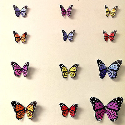 3D Butterfly Wall Stickers, Wall Decors,  Wall Art,  Wall Decorations