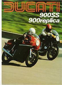 1980-Ducati-900SS-900-Hailwood-Replica-4-page-brochure