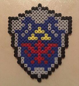 Detalles De Pixel Art Perles A Repasser Bouclier De Link Dans Zelda