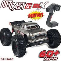 Arrma 106021 Outcast 6s Blx Stunt Truck 4wd Rtr Brushless W/ Radio on sale