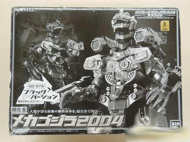 Bandai Cogokin Mecha Godzilla 2004 GD-57B Versión Negro Figura Acción Japón F