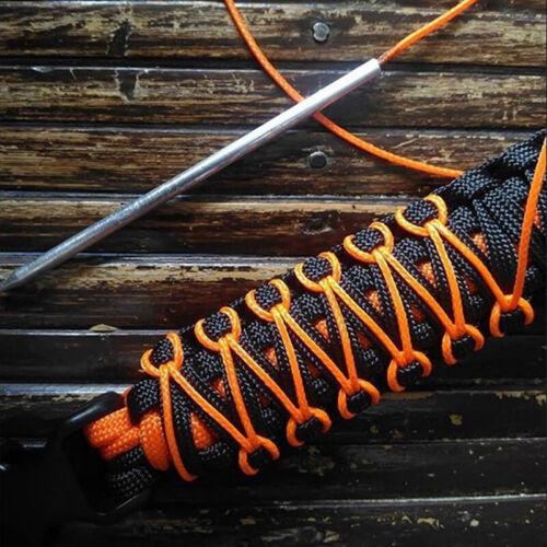 1 Satz DIY Tragbare Paracord Stitching Nadeln Schnürung Glättungswerkzeug FüRSDE