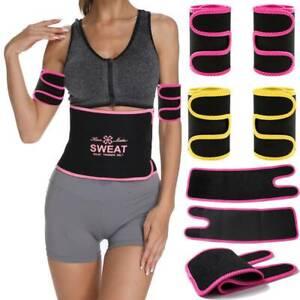 Ladies Weight Loss Slim Arm Wraps Neoprene Arm Trainer Trimmers Sauna Sweat Band
