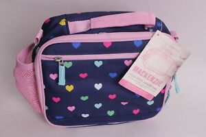 Pottery Barn Kids Mackenzie Cold Pack Lunch Box Bag Navy