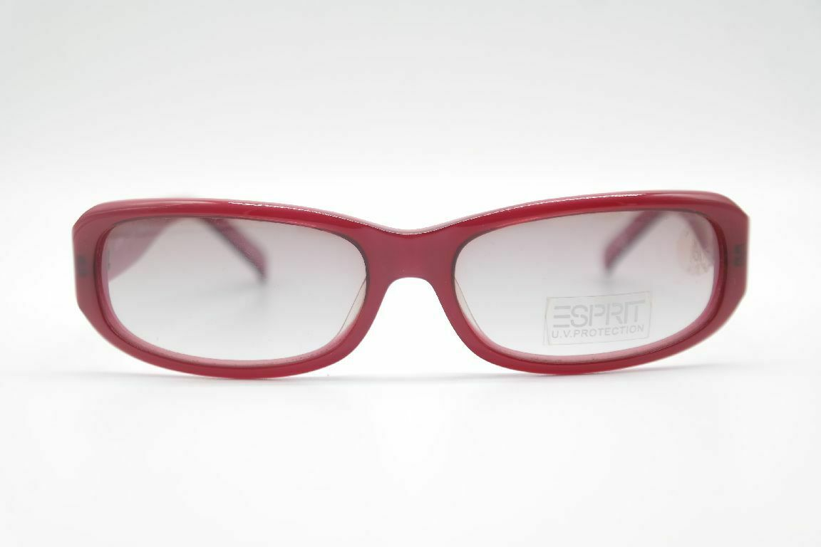 Esprit Color 534 57 16 Red Oval Sunglasses New