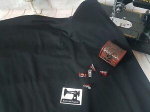d9e80f05272 50cm BLACK Plain Solid cotton lycra fabric 4 way stretch knit fabric ...