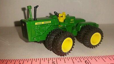 1/64 ERTL farm toy custom John deere 8010 4wd tractor w/ rubber Duals free ship!