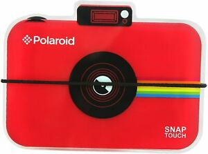 Polaroid Snap Touch Camera Photo Album - RED, for 12 x Zink prints