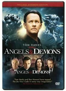 Angels & Demons 2-Disc Extended Edition (DVD Bilingual) Free Shipping in Canada