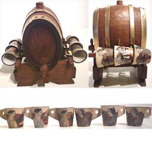 tonneau alcool bois g lafitte mof 6 verre ciboure rf b ebay. Black Bedroom Furniture Sets. Home Design Ideas