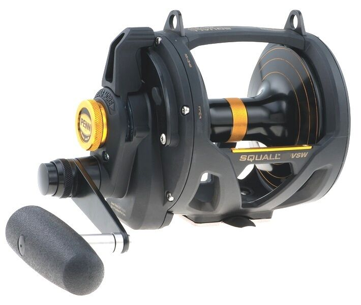 PENN SQUALL 2-Speed LEVA trascinare BIG GAME FISHING reels reels reels 16vs / 30VSW / 50vsw 58fd2f
