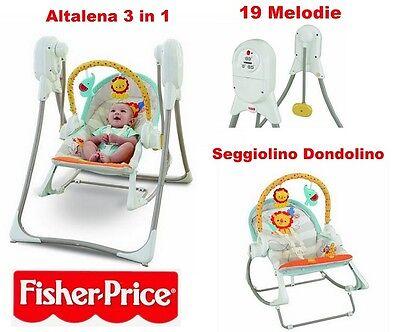 Caritatevole Fisher Price Altalena 3 In 1 Cuccioli Della Natura Una Grande Varietà Di Modelli