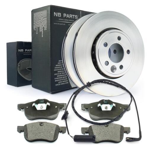 2x Bremsscheibe 284mm Warnkontakt vorne MG MG ZT Rover 75 RJ Bremsbeläge