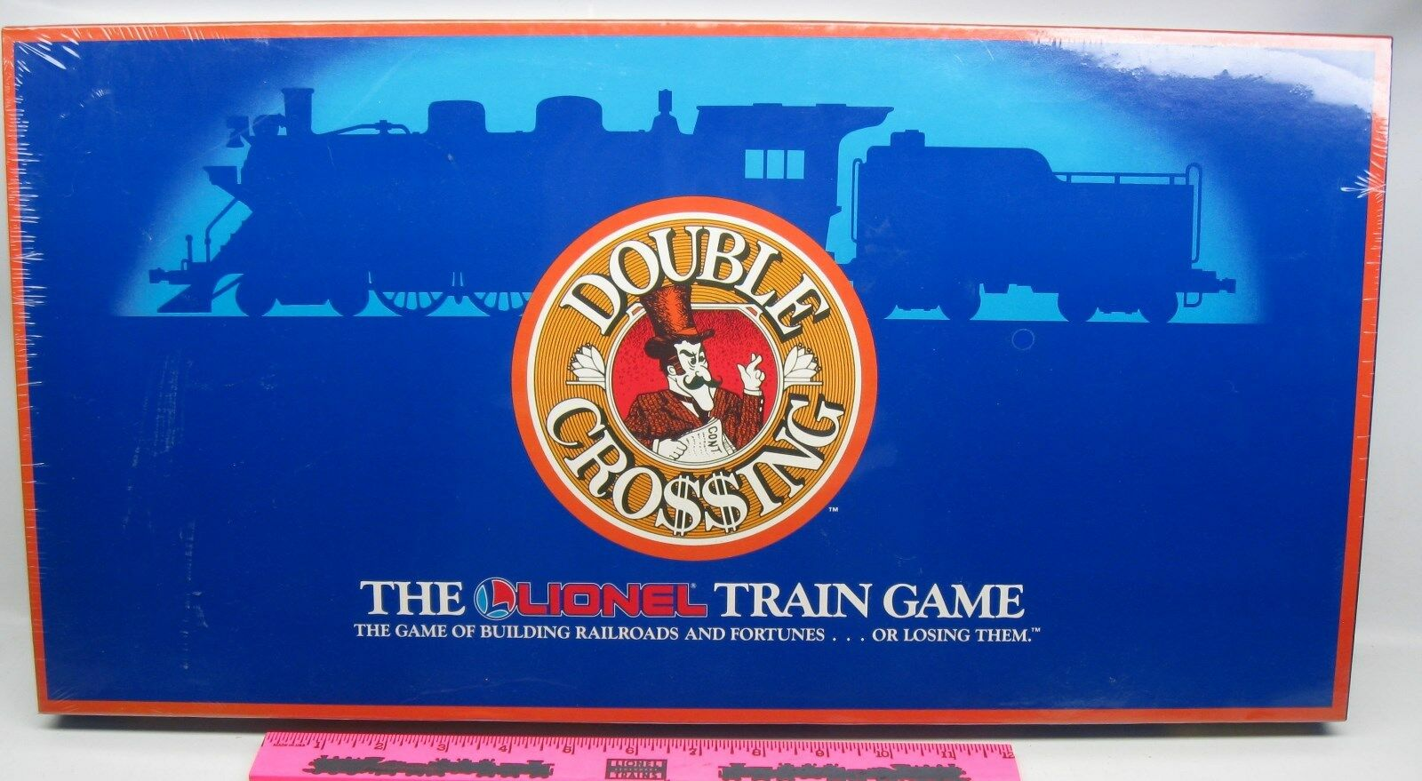 The Lionel Train Game  Double Crossing, the game of building railroads and fort