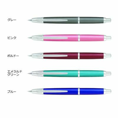 "JAPAN18K  PEN Emerald Green, Nib:F 【PILOT】 /""Capless Decimo Limited 20 Colors /"""