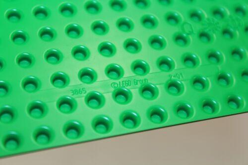 NEW Base Plate 6 Genuine LEGO Baseplates 8x16 MiniFigure BRIGHT GREEN Thin
