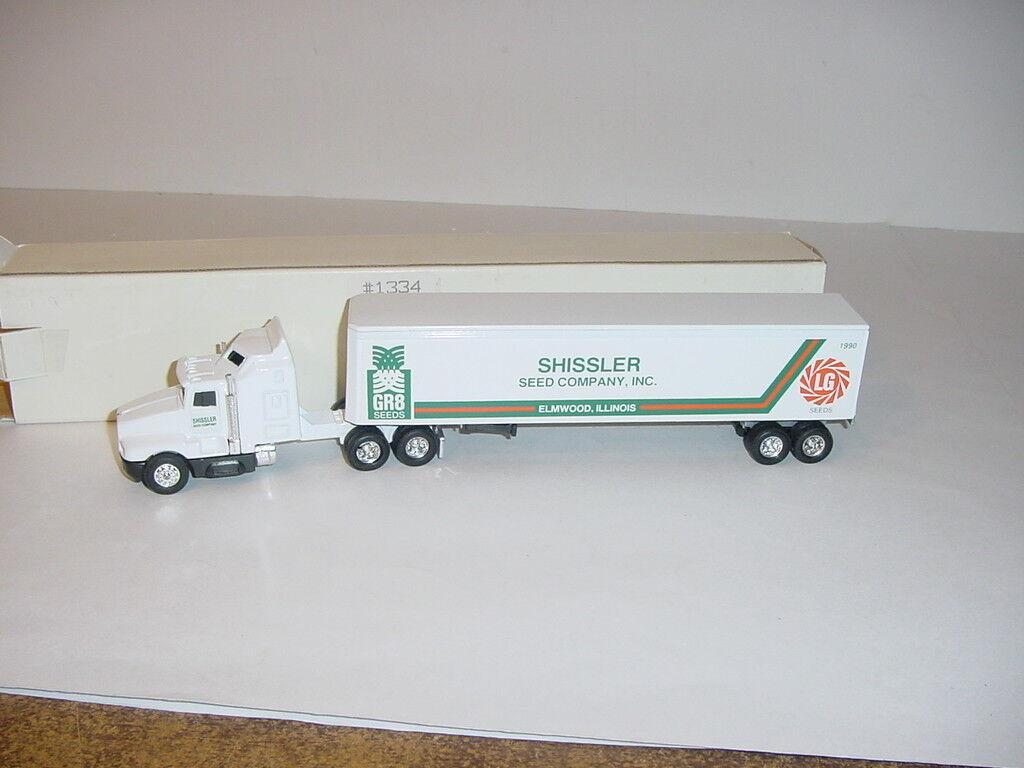 1 64 Shissler Seeds Tractor & Trailer Set W Box