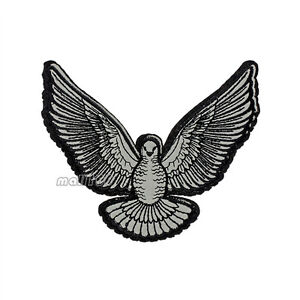 Hawk-Eagle-With-Wing-Patch-Animal-Sewing-Crfts-Apparel-Iron-on-Applique-12-5cm