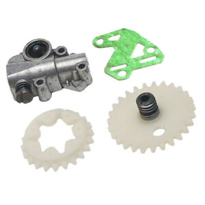 Oil Pump /& Worm Gear Kit Fits for Stihl MS034 036 360 Chainsaws Mower Parts