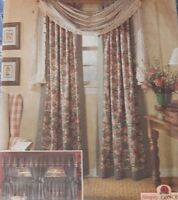 8052 Simplicity Country Window Dressing Treatment Curtains Home Decor
