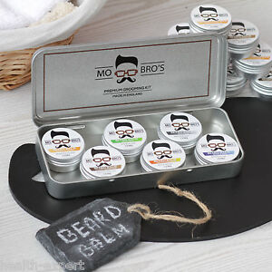 mo bro 39 s beard balm collection gift set 15ml x 6 conditioner grooming tin ebay. Black Bedroom Furniture Sets. Home Design Ideas