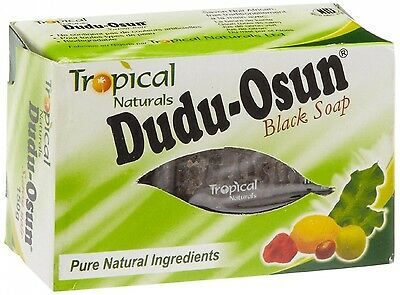 Tropical Naturals Dudu Osun Black Soap - Pack of 6. Free Delivery
