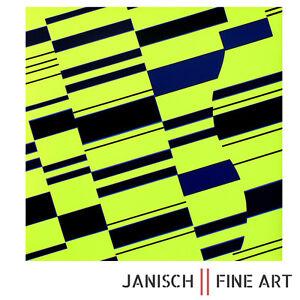 GUNTER-FRUHTRUNK-034-Blaue-Partikel-034-handsigniert-1971-Auflage-125