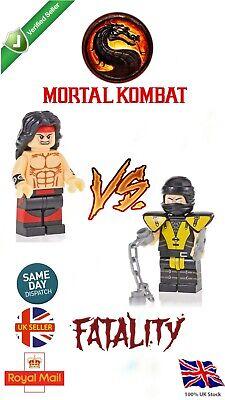Mortal Kombat Liu Kang Mini Figure Avengers Game Movie Scorpion MK UK SELLER