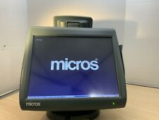 Micros Workstation 5a 15 Pos With Stand Amp Customer Displaymic 745