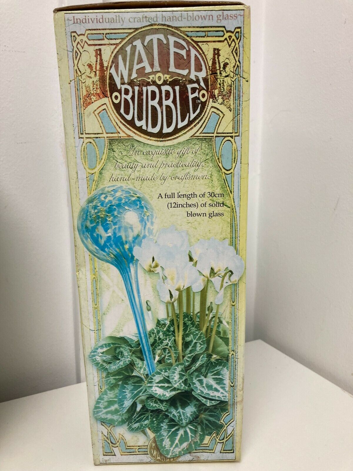 Glass Bubbles Globes For Watering Plants x4 Items 30cm P402 E55