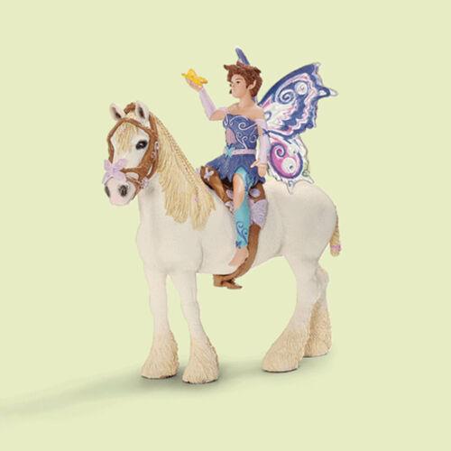 """sin caballo 42108 Schleich-nuevo en OVP-Mint en Box!!! /"""" /""""elfenreitset limeya"""