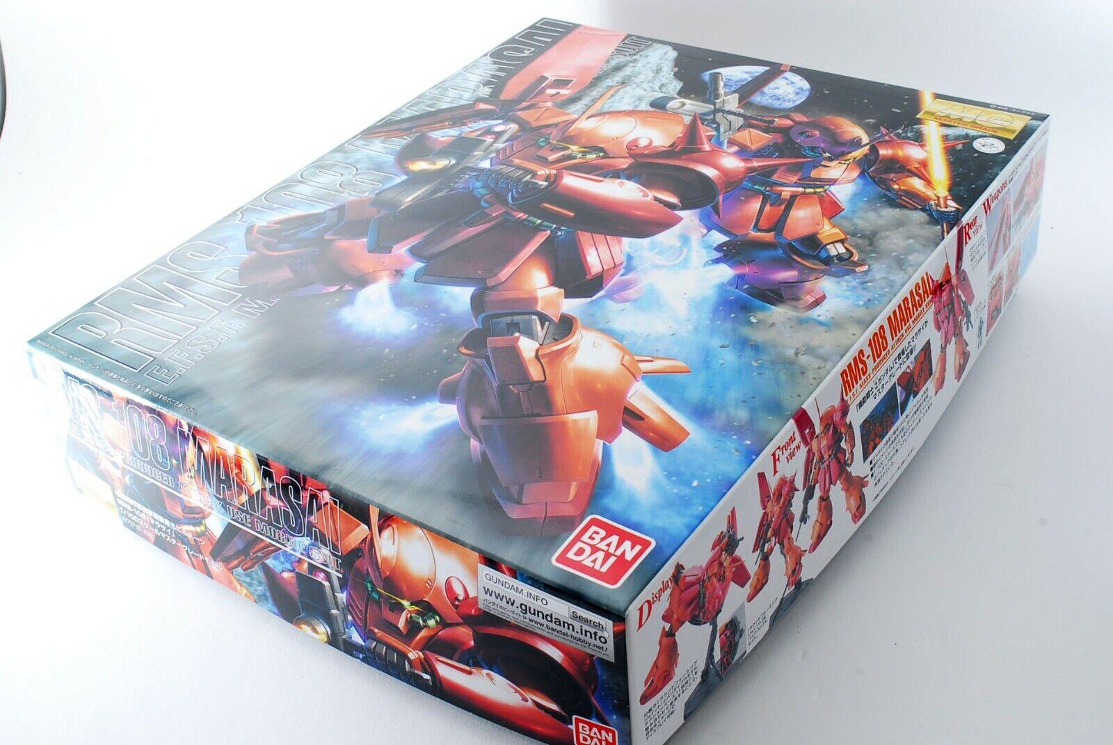 MG 1/100 RMS-108 Marasai Mobile Suit Z Gundam
