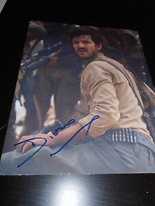 DIEGO-LUNA-SIGNED-AUTOGRAPH-8x10-PHOTO-ROGUE-ONE-IN-PERSON-COA-AUTO-STAR-WARS-NY