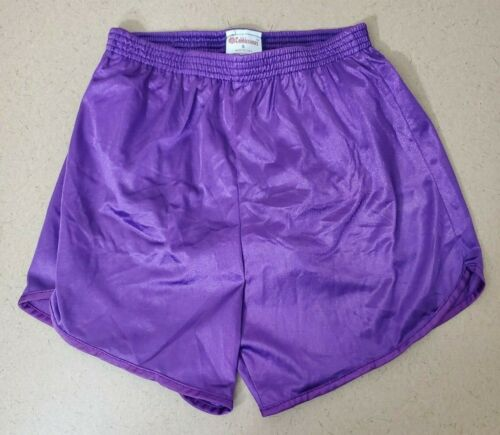 Cobblestones Womens Exercise Violet Track Cross Country Fitness Running Shorts