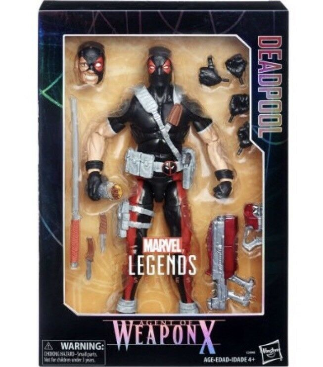 Marvel Legends DEADPOOL Deluxe Collector Action Figure Agent of WEAPON X
