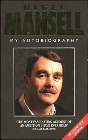 Nigel Mansell: My Autobiography James Allen Nigel Mansell HB 1995 F1 cars Racing