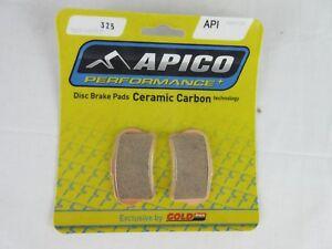 Sherco-ST300-15-18-trials-apico-front-brake-pads-325-braketek-caliper