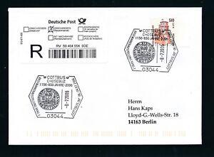 10032-Reco-Brief-EF-Do-Nominale-51oPF-2-61-SST-Cottbus-BMA-850-Jahre-2006