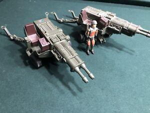 Gi Joe Heavy Artillery Laser Hal Lot De 2 1982 Série 1 & Grand Chelem