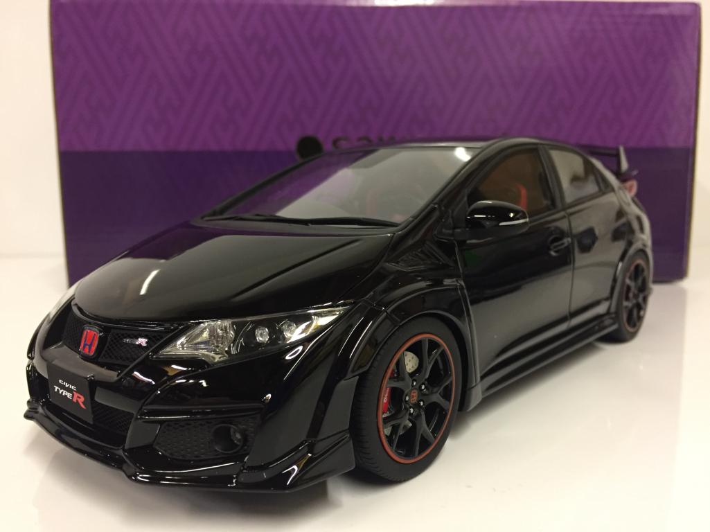 Honda Civic Type R Noir 1 18 échelle échelle échelle Résine Kyosho KSR18022BK f81e48