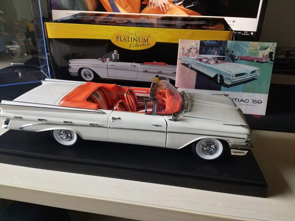 Modelbil, Sunstar 1959 Pontiac Bonneville Open