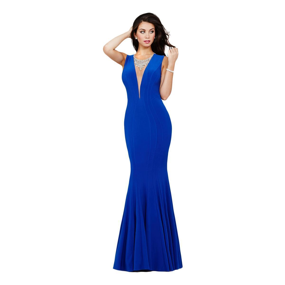 550 NWT ROYAL blueE JOVANI PROM PAGEANT FORMAL DRESS GOWN SIZE 4