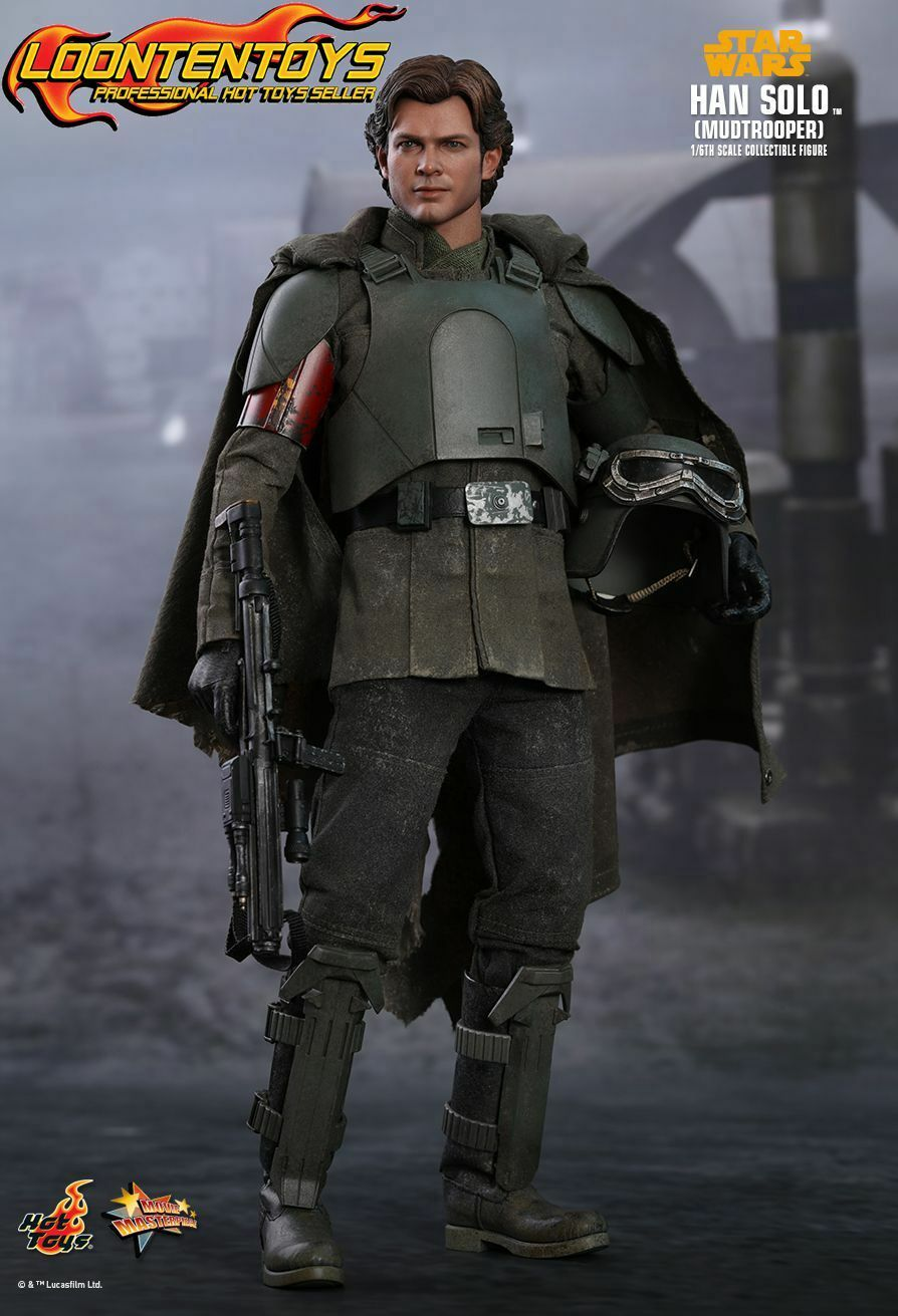 Hot Toys 1 6 MMS493 – Solo  A Star Wars Story - Han Solo (Mudtrooper)