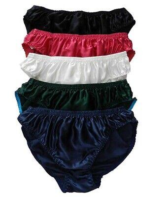 6pcs Men/'s 100/% Silk Underwear  Brief  Size M L XL XXL