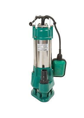 Septic Sewage Cesspit Sump 7000 LPH SMALL IBO V370 Submersible Pump w.SHREDDER
