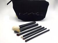 Mac Cosmetics Look In A Box Advanced Brush Set With Original Bag